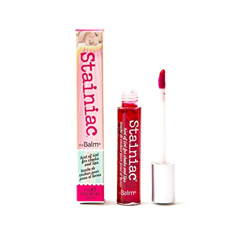 Stainiac Lip & Cheek Stain, Aloe-Infused Formula, Multi-Use, Buildable, Pigmented ()