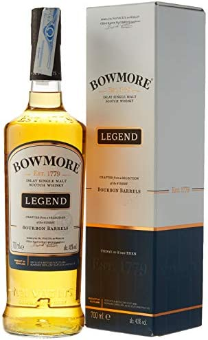 Bowmore Legend 40º - Whisky en Estuche, 700 ml: Amazon.es: Alimentación y bebidas