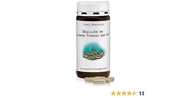 Mejillón de labios verdes 500mg, de Nueva Zelanda - 150 Cápsulas: Amazon.es: Salud y cuidado personal