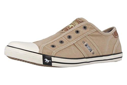 Mustang Mujeres Zapatos llanos marrón, (braun) 1099-401-4 Beige (Beige 4)