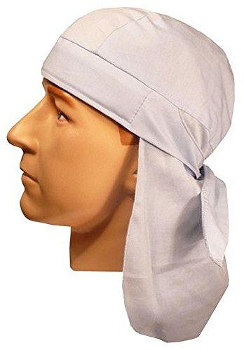 Style Skull Cap (Desert Skull Cap Biker Style Headwraps Doo - Sky Blue)
