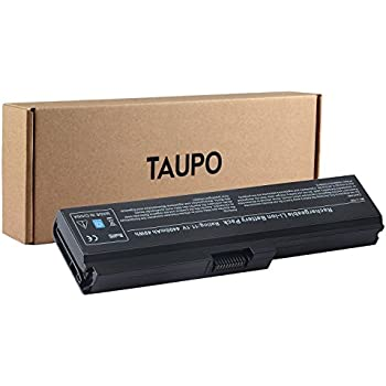 TAUPO Laptop Battery Compatible with Toshiba PA3817U-1BRS PA3819U-1BRS Satellite C655 L600 L675 L675D L700 L745 L750 L750D L755 L755D M640 M645 M645-S4070 ...