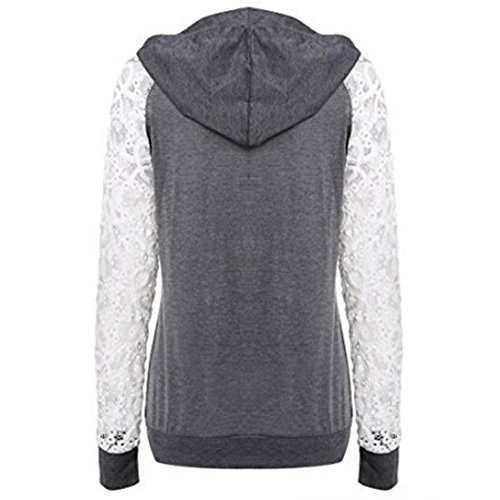 Soiree Capuche Femmes Chic Grande Vetements Sweat Day8 Printemps 1xnOzz