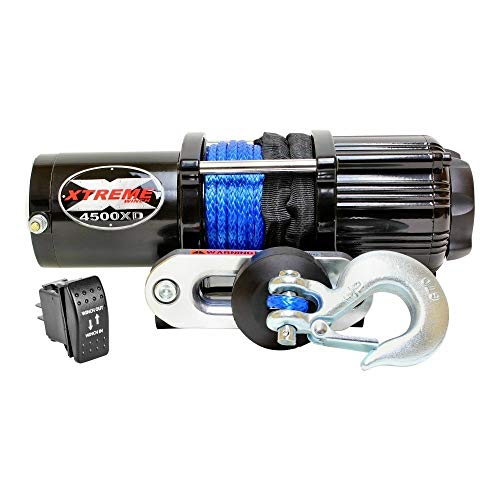 XTREME Winch 4500LB ATV Winch With Model Specifc Mount Fits 2016-18 HONDA PIONEER 1000 & 1000-5 -  45001285XSUTV