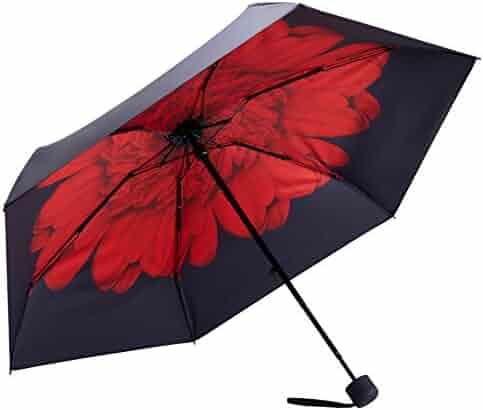 Fidus Mini Windproof Travel Umbrella - Unbreakable - Compact Folding Light Portable Umbrella