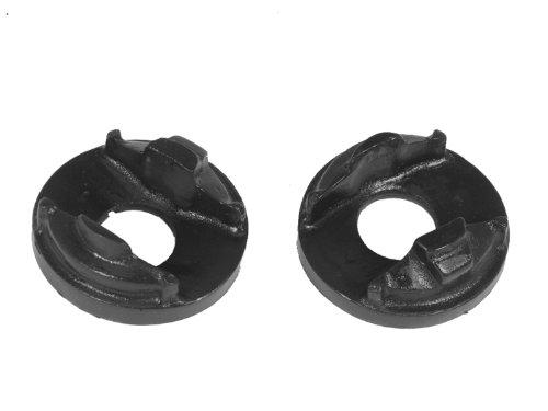 Prothane 13-502-BL Black Front Engine Mount Insert Kit
