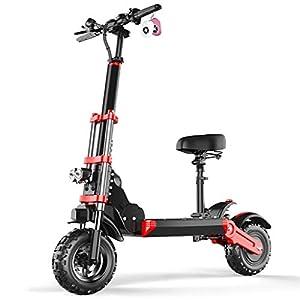 Monopattino Elettrico Scooter Pieghevole per Adulto velocità Massima 45km/h 500W Pneumatico a Prova di Esplosione da 12…