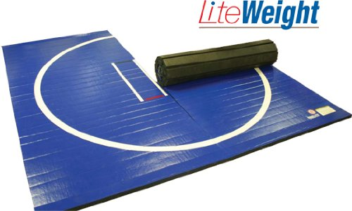 Resilite Wrestling Mat Liteweight 5 X10 Navy Blue No