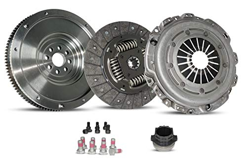 Clutch With Flywheel Kit works with BMW 318i 318is 318ti Z3 Base 1.9i 1.8i M Roadster Convertible Coupe Hatchback Sedan 1991-1999 1.8L L4 1.9L L4 Gas Dohc