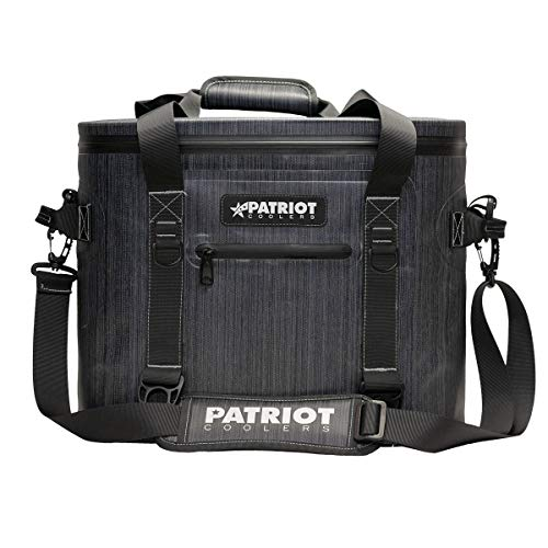 Patriot 30 Soft Pack Cooler, Insulated Soft Sided Cooler Bag for Outdoor Travel, Camping, Beach, Picnic, BBQ Party, Tailgating