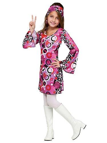 Feelin' Groovy Child Costume - (Feelin Groovy Halloween Costume)