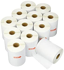 "RBHK Dymo 1744907 4""x6"" Shipping Labels Compatible 4xl (12 Rolls)"