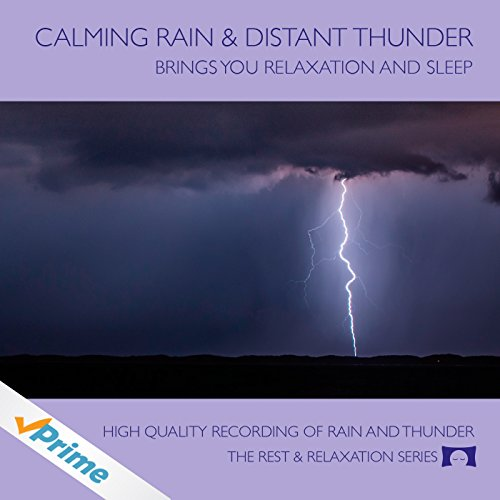 Calming Rain and Distant Thunder - Thunderstorm Nature Sounds Recording - for Meditation, Relaxation and Sleep - Nature's Perfect White Noise -