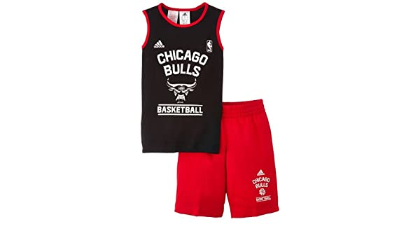 adidas Performance Chicago Bulls Minikit - Camiseta de Baloncesto ...