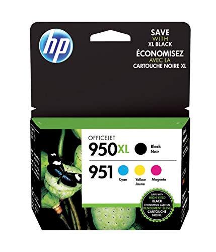 (HP 950XL/951 Black/Color Original Ink Cartridges (C2P01FNM))