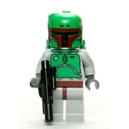 Star Wars LEGO Minifigure Classic Boba Fett with Blaster -