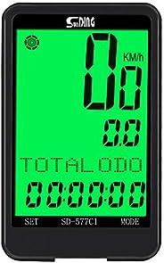 Sunding Wireless Bicycles Computer Cadence Bikes Speedometer Odometer Waterproof