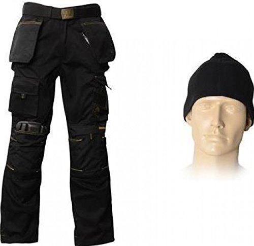de 36 rodilla pantalón tejida y de gorrita pulgadas BOXSET36 cinturón almohadillas con Clothing de Roughneck Paquete xYqTv1wZ