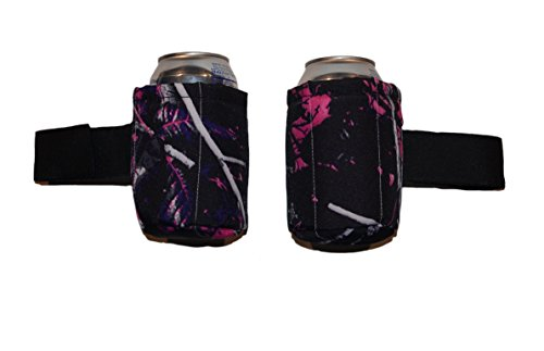 "Camo Pink Roll Bar Drink Holder fits Roll Bars up to 3"" Diameter all Jeep Wrangler and CJ Models, Side by Sides and UTVs"