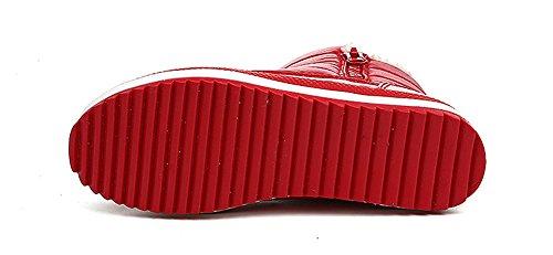 para Rojo Lucha Libre Mujer de CCZZ Zapatillas wHqTIxg