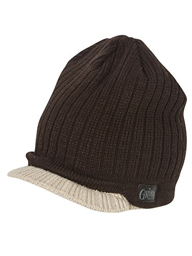 Peter Grimm Reno Cuffed Beanie Visor - Brown/Tan