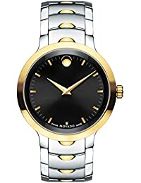 Mens Swiss Quartz Two-Tone and Stainless Steel Casual Watch, Color:Two (