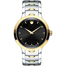 Movado Men's Swiss Quartz Two-Tone and Stainless Steel Casual Watch, Color:Two (Model: 0607043)