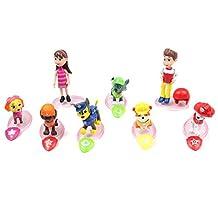 Paw Patrol Figures L2 Toys Set 8 Pcs 6cm - 10cm