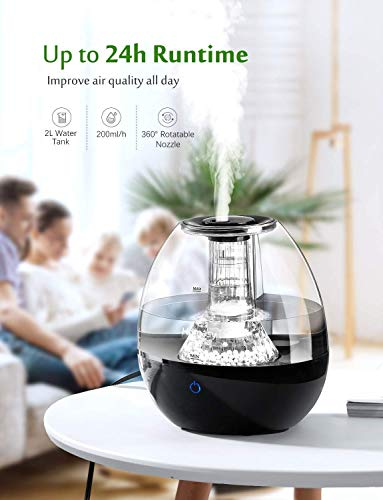 Homasy Upgraded Cool Mist Humidifier