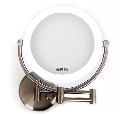 Makeup Mirror - 10x Magnification Mirrors with Lights 17.5