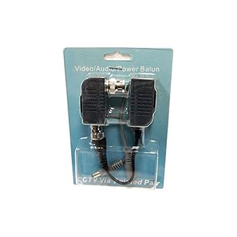 Evertech 16 pares (32 pcs) Cable de vídeo CCTV Balun BNC a CAT5 CAT6 UTP RG45 Cable de datos para casa o oficina CCTV cámara y DVR sistema de vigilancia de ...