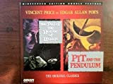 The Fall of the House of Usher/Pit and the Pendulum Widescreen Double Feature Laserdisc