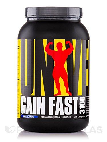 Gain Fast 3100 Vanilla Universal Nutrition 2.55 lbs. Powder