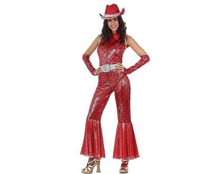 Atosa - Disfraz de vaquero para mujer, talla XL (96608 ...