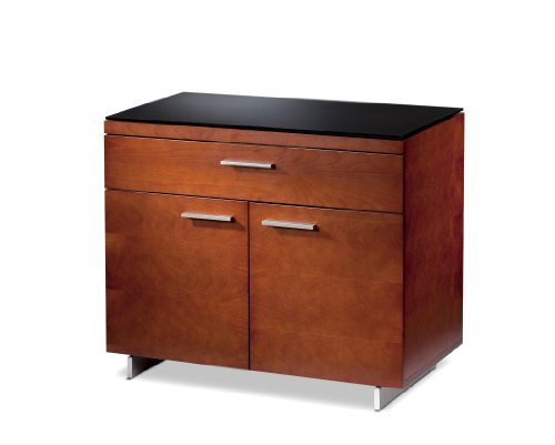 BDI Sequel / 6015 Sequel Storage Cabinet 6015 - Natural Stained Cherry (Bdi Cherry Cabinet)