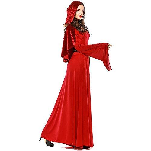 Juego De Para Traje Yunfeng Slim Disfraz Belleza Halloween Grande Rojo Vestido Mujer Vampiro Bruja qpOHwOX