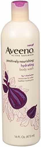 Aveeno Positively Nourishing Hydrating Body Wash, 16 Fl. Oz