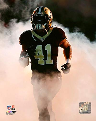 Alvin Kamara New Orleans Saints 2017 Action Photo (Size: 8