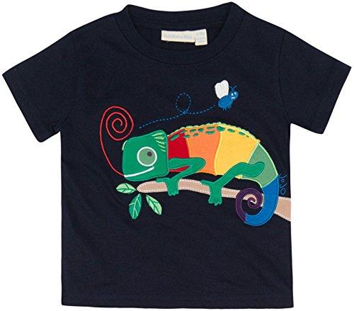 Jojo Maman Bebe Baby Boys' Chameleon T Shirt, Navy, 12 18 Months