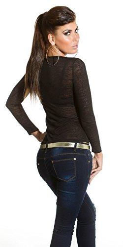 Para Camisas Fusion By Miss Negro Fashion Mujer x4H0IqS