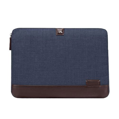 """Brenthaven Collins Laptop Sleeve 15.4"""" Indigo Chambray One Size from Brenthaven"""