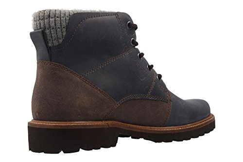 Manz Herren Boots - Blau Schuhe in Übergrößen
