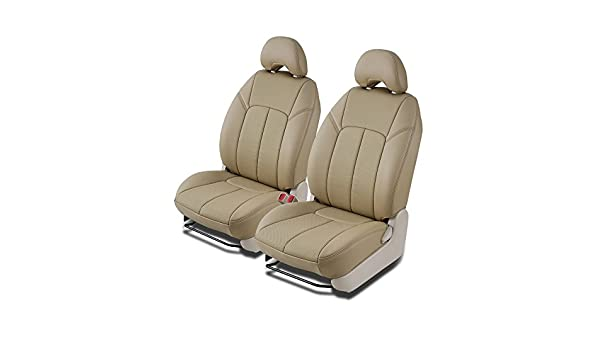 Clazzio 425031tan Tan Leather Front Row Seat Cover for Nissan Sentra Base//S//SR