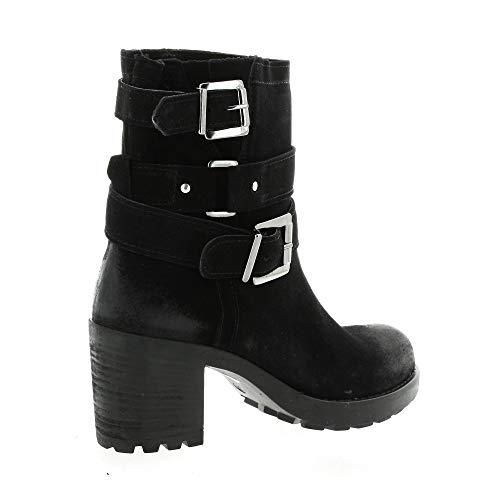 Boots Velours Pao Boots Cuir Pao Noir Ew8xUqpR