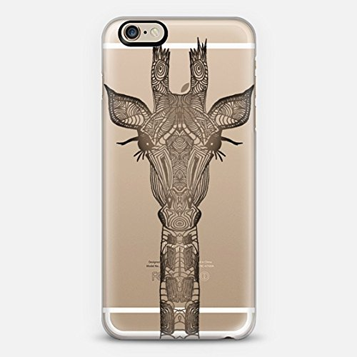 Casetify Real Wood Giraffe iPhone 6 Case (Frosty White)