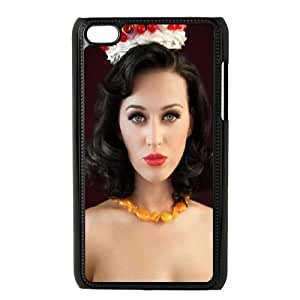 Singer Katy Perry iPod Touch 4 Case Black DIY Gift xxy002_5063714