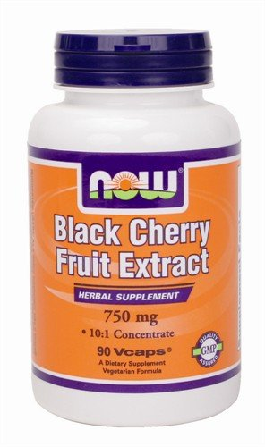 Black Cherry Extract 750mg Now Foods 90 VCaps