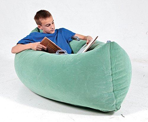 Abilitations Inflatable PeaPod Medium, 60 Inches, Vinyl, Green ()