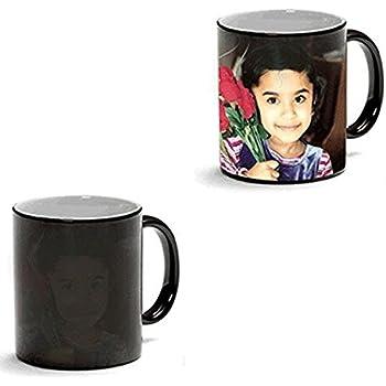 11oz Next Day Print Black Color Changing personalized Mug