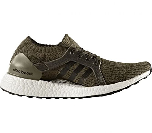 adidas–Ultra Boost X Zapatillas de running para mujer verde oscuro